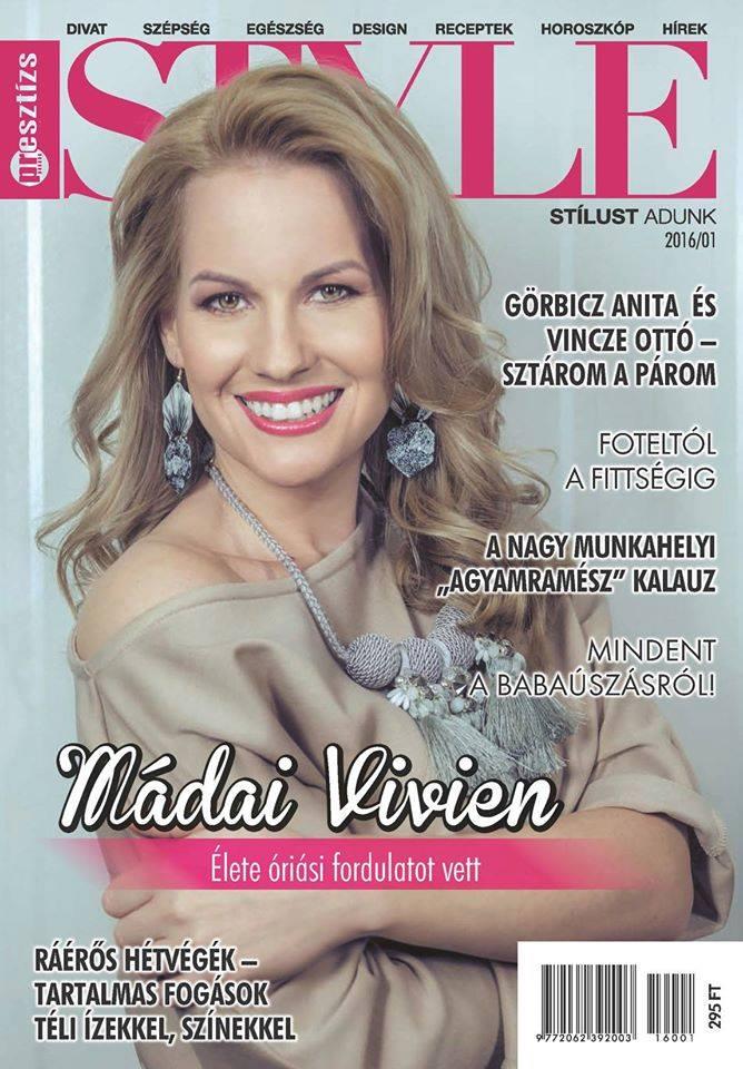 Presztízs Style Magazin - címlap